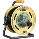 ハタヤ/HATAYA レインボーリール屋外用 防雨型電工ドラム・コードリール 漏電遮断器付 BE30K BE-30K