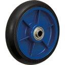 イノアック車輪 イノアック 低始動抵抗キャスター 車輪のみ Φ150 黒 1個 LR150WBK LR150WBK 1 個