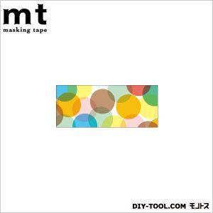 カモイ mtマスキングテープ CASA 100mm スポット・イエロー 奥行4.8×幅4.8×高さ10cm (MTCA1035) 1巻