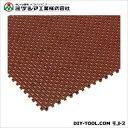 ミヅシマ工業 チェックチェッカー ブラウン 150mm×150mm×15mm 420-0100