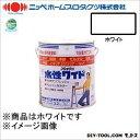 ニッペホーム 水性ワイド フレッシュ ホワイト(しろ) 3.2L (17) nippehome 塗料 水性塗料