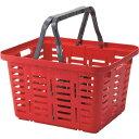 リングスター スーパーバスケット 買い物カゴ ブラウン (SB-465ブラウン) リングスター ツールボックス 樹脂