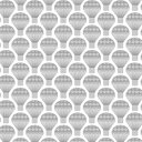Scandinavian Pattern Collection ウィンドウフィルム Balloons in the sky 92cm×90cm SPC-654