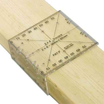 ラクダ | Rakuda ツーバイフォー定規(2X4木材用)