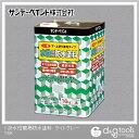サンデーペイント 一液水性簡易防水塗料(下塗り、上塗り兼用タイプ)コンクリートフロア用塗料 ライトグレー 16kg