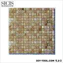 RoomClip商品情報 - SICIS モザイクタイル マリーゴールド3 295×295mm MKKP-3030GMM-22 22 シート