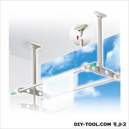 DRY WAVE 吊下げ型可動式物干金物 標準タイプ ステンカラー 600?900mm×450mm (TD6090[ST]) 1組
