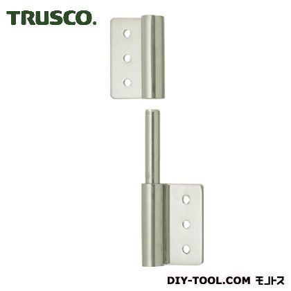 TRUSCO ステンレス製抜き差し旗蝶番左用全長50mm TLS-100LX 1 個