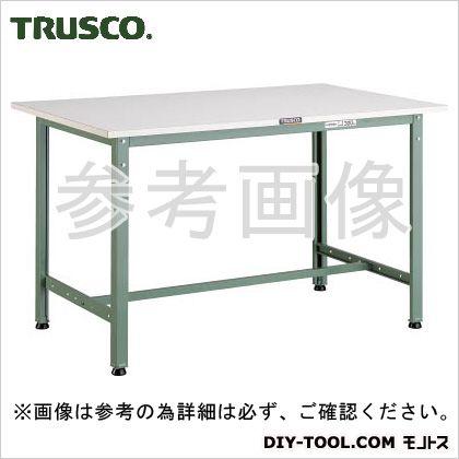 トラスコ AE型作業台ポリ化粧天板 900×450×740 (AE0945) 作業台 ステンレス作業台 作業 万能作業台