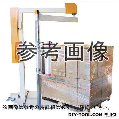 司化成工業 移動式手動型パレットストレッチ包装機 くるくるマック KURUKURUMAC