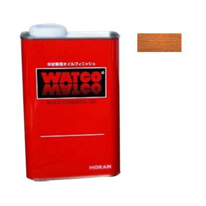 ワトコ社 ワトコオイル浸透性木材用塗料 ミディアムウォルナット 1L W-12