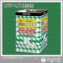 サンデーペイント 一液水性簡易防水塗料(下塗り、上塗り兼用タイプ)コンクリートフロア用塗料 グリーン 16kg