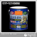 サンデーペイント 水性塗料 エコアクア 極 黒 1.6L