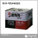 サンデーペイント 油性建物用(油性多目的塗料チクソタイプ)合成樹脂塗料 白 7L 塗料 ペンキ 油性 油性塗料 油性ペンキ ペンキ塗料