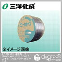 三洋化成 透明ホース(ドラム巻) 38mm×44mm×25Mドラム巻 (TM-3844D 25T)