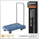 トラスコ 小型樹脂製運搬車 新型こまわり君 ブルー (MP-6039N-B)