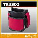 トラスコ(TRUSCO) 腰袋2段携帯電話ホルダー付きレッド 202 x 183 x 115 mm TWP2R