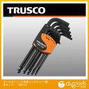トラスコ ボールポイント六角棒レンチセット(標準タイプ) TBR12S 12 本