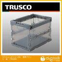 トラスコ(TRUSCO) スケルコン折りたたみコンテナ20L黒 BK 365 x 261 x 76 mm TRS20BK 1個