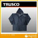 TRUSCO レインスーツMサイズネイビー TRW55M