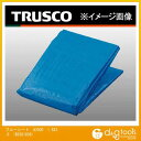 トラスコ ブルーシート #2000 1.8m×3.6m BS201836