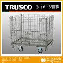 ショッピングキャスター トラスコ(TRUSCO) ネットパレットキャスター付500kg用900×650×755 TNP2NS