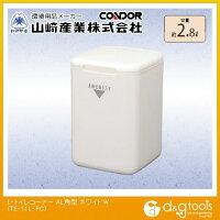 山崎産業(コンドル) L・トイレコーナー AL角型 ホワイト TE-11L-PC