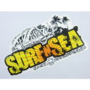 SURF-N-SEA (サーフアンドシー)・ハワイ・ノースショアオリジナルステッカー・シールLサイズ