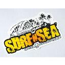 SURF-N-SEA (サーフアンドシー)・ハワイ・ノースショアオリジナルステッカー・シール