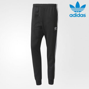 adidas Originals・アディダス オリジナルス【USA買付け】【即日発送】ジャージ・トラックパンツSST CUFFD TRACK PANTSサイズ:S-XL・Black/Whiteメンズ・ユニセックス