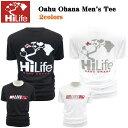 HiLife【ハイライフ】【Hawaii発】【Hawaii直輸入】Oahu Ohana Men's Tee・Tシャツ・オアフ島2colors・メンズ・ユニセックス・サイズ:S〜L