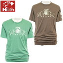 HiLife【ハイライフ】【Hawaii発】【Hawaii直輸入】【Hawaiian Island Creations】HICコラボTシャツSLIM FIT TEE・2colorsメンズ・ユニセックス・サイズ:L