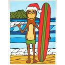 【ヘザーブラウン】【HEATHER BROWN】クリスマス グリーティングカードChristmas Xmas HolidayLongboarding with ...
