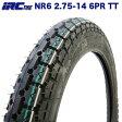IRC製 タイヤ NR6 2.75-14 6PR HONDA リトルカブ YAMAHA ニュースメイト90 リアタイヤ