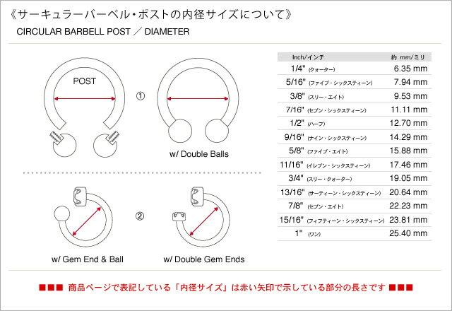 【正規直輸入品】ステンレス・サーキュラー バー...の紹介画像2