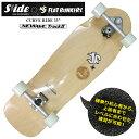 スケートボード スケボー SLIDE SURF SKATEBOARDS × FLAT BUNKERS サーフスケート コンプリートCURVE RIDE 33 送...