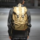 hobo(ホーボ) Ripstop Nylon Backpack 25L(リップストップナイロンバックパック25L) BEIGE