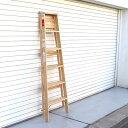 RoomClip商品情報 - ミシガンラダー ウッドステップラダー サイズ6 Wood Step Ladder Size 6 脚立 おしゃれ 6段 折りたたみ ウッド 木製 踏み台 ステップ台 はしご 梯子 ハシゴ DIY インテリア アメリカン