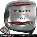 P5倍☆前作FLIT-BOXをしのぐ打ちやすさと方向性【最新作】四角ヘッド第二弾 FLIT-BOX2(フリット・ボックス2) スクエア チタン ドライバー: