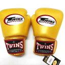 TWINS SPECIAL ボクシンググローブ 16oz 金/ボクシング/ムエタイ/グローブ/キック/フィットネス/本革製
