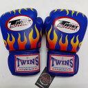 TWINS SPECIAL ボクシンググローブ 16oz F青 /ボクシング/ムエタイ/グローブ/キック/フィットネス/本革製/ツインズ