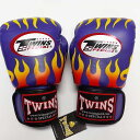 TWINS SPECIAL ボクシンググローブ 8oz F紫 /ボクシング/ムエタイ/グローブ/キック/フィットネス/本革製/ツインズ