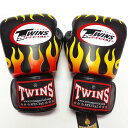 TWINS SPECIAL ボクシンググローブ 16oz F黒 /ボクシング/ムエタイ/グローブ/キック/フィットネス/本革製/ツインズ