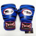 TWINS SPECIAL ボクシンググローブ 8oz Z青黒 /ボクシング/ムエタイ/グローブ/キック/フィットネス/本革製/ツインズ/オンス/大人用