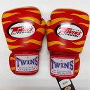 TWINS SPECIAL ボクシンググローブ 8oz Z赤黄 /ボクシング/ムエタイ/グローブ/キック/フィットネス/本革製/ツインズ/オンス