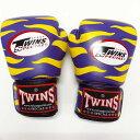 TWINS SPECIAL ボクシンググローブ 12oz Z紫黄 /ボクシング/ムエタイ/グローブ/キック/フィットネス/本革製/ツインズ/オンス