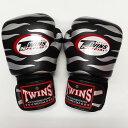 TWINS SPECIAL ボクシンググローブ 8oz Z黒銀 /ボクシング/ムエタイ/グローブ/キック/フィットネス/本革製/ツインズ/オンス