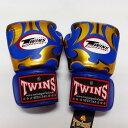 TWINS SPECIAL ボクシンググローブ 16oz MT青金 /ボクシング/ムエタイ/グローブ/キック/フィットネス/本革製/ツインズ/大人用