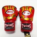 TWINS SPECIAL ボクシンググローブ 8oz MT赤金 /ボクシング/ムエタイ/グローブ/キック/フィットネス/本革製/ツインズ/オンス/大人用