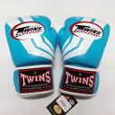 TWINS SPECIAL ボクシンググローブ 8oz Fs水白 /ボクシング/ムエタイ/グローブ/キック/フィットネス/本革製/ツインズ/オンス/大人用